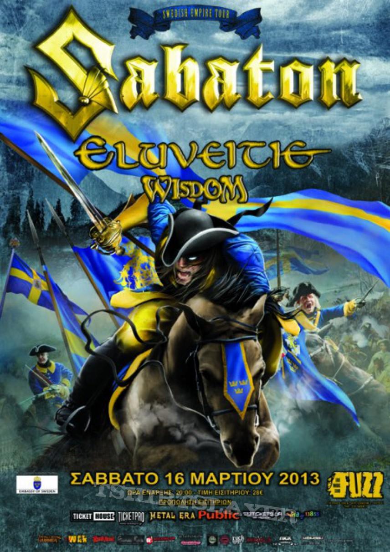 Sabaton Swedish Tour