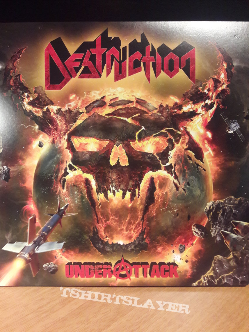 Destruction – Under Attack  (Yellow 2LP)