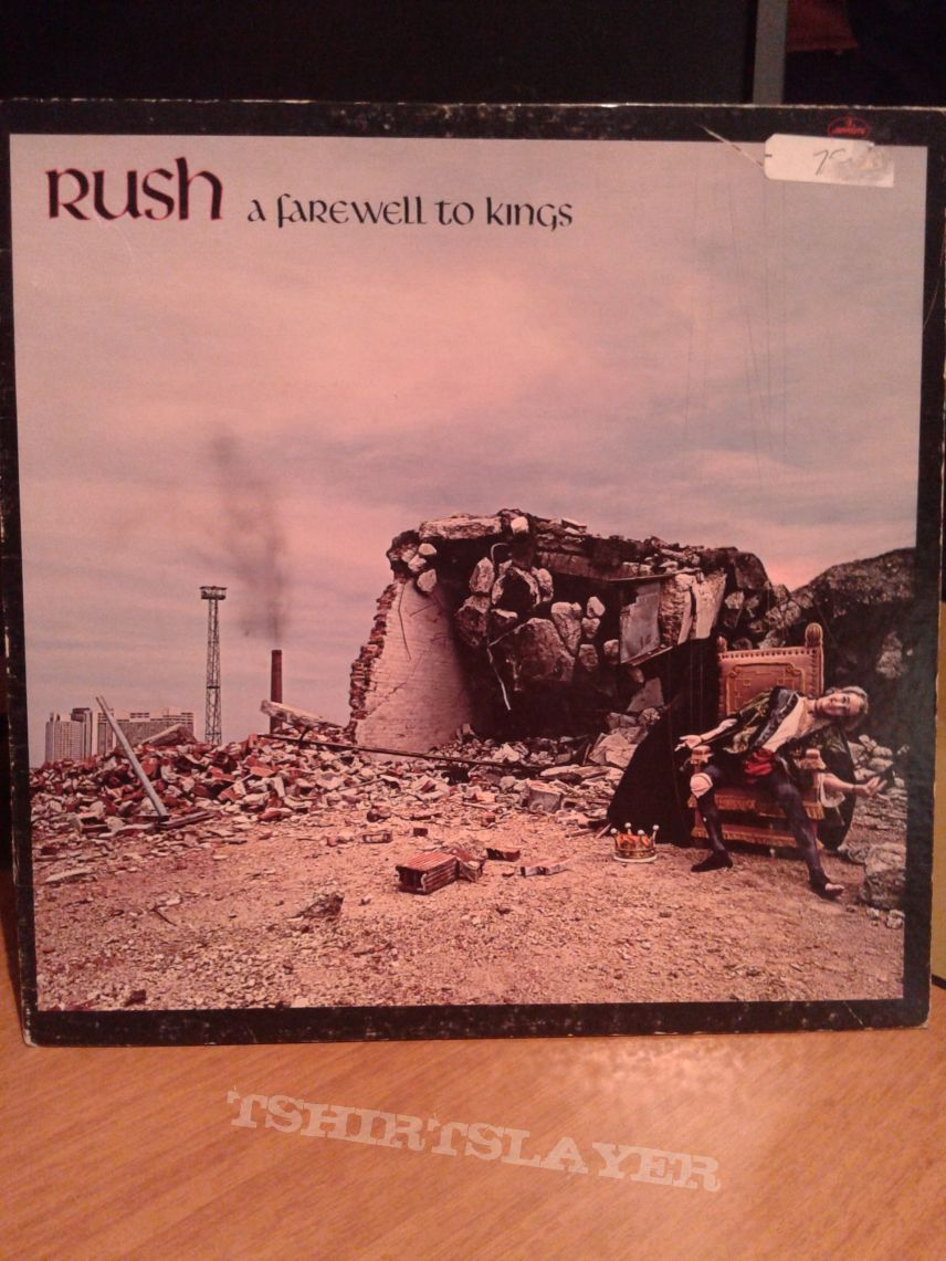 Rush ‎– A Farewell To Kings Lp