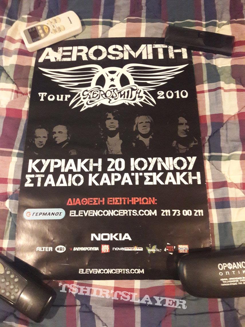 Aerosmith 2010 Event Poster
