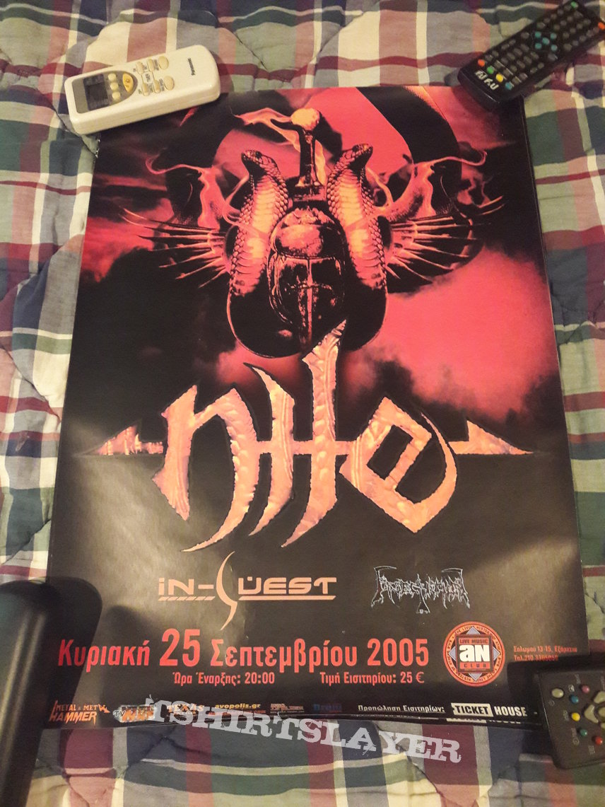 Nile 2005 Event Poster