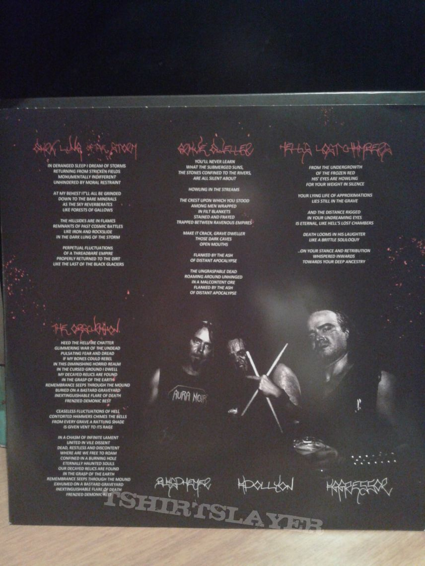 Aura Noir – Aura Noire Lp   TShirtSlayer TShirt and