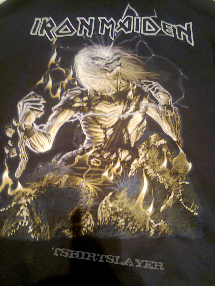 Iron Maiden  - Live After Death Hoodie