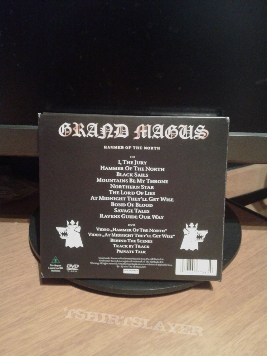 Grand Magus ‎– Hammer Of The North