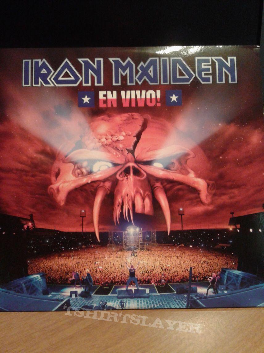 Iron Maiden – En Vivo! 3Lp