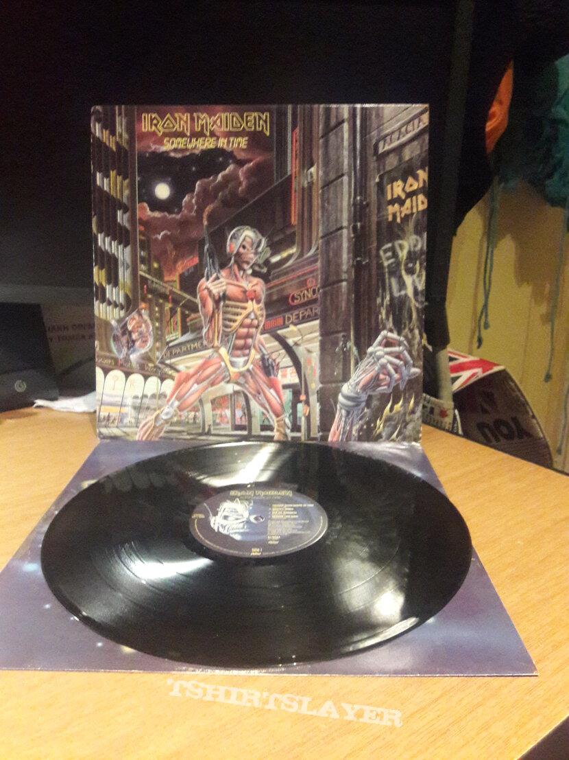 Iron Maiden – Somewhere In Time LP