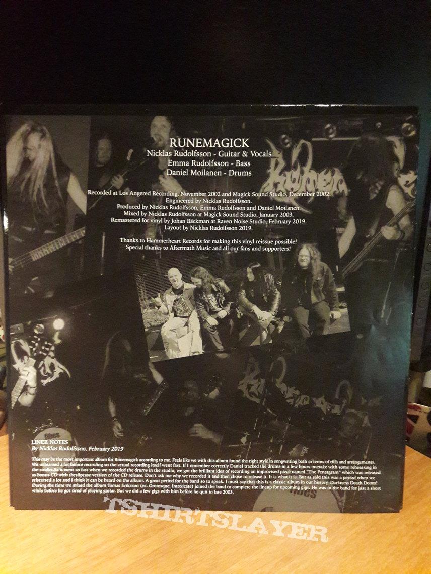 Runemagick – Darkness Death Doom (2 Silver LP)
