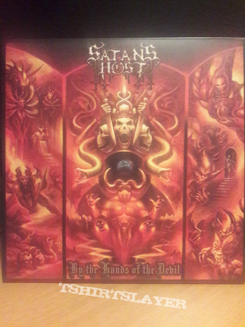 Satan's Host ‎– By The Hands Of The Devil (2LP)