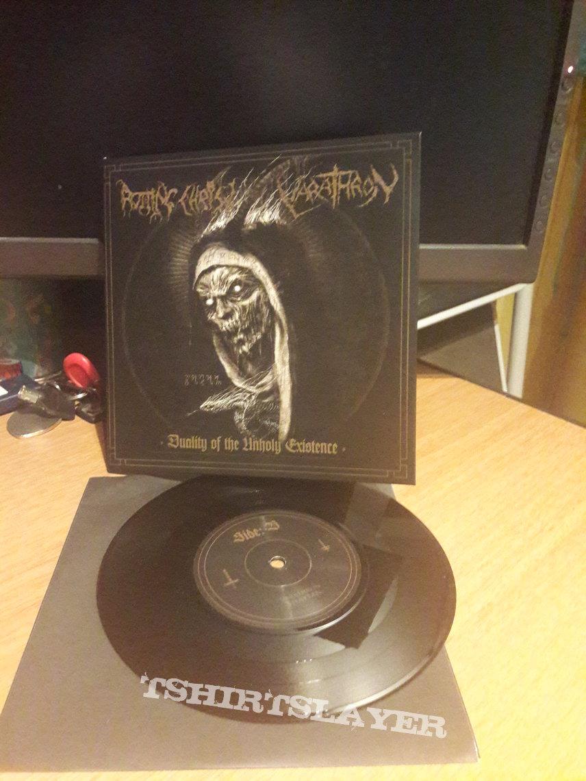 Rotting Christ / Varathron – Duality of the Unholy Existence Split 7