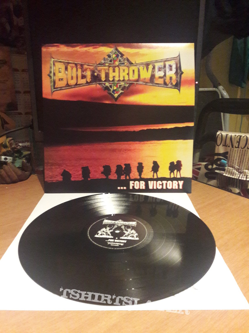 Bolt Thrower ‎– ... For Victory LP