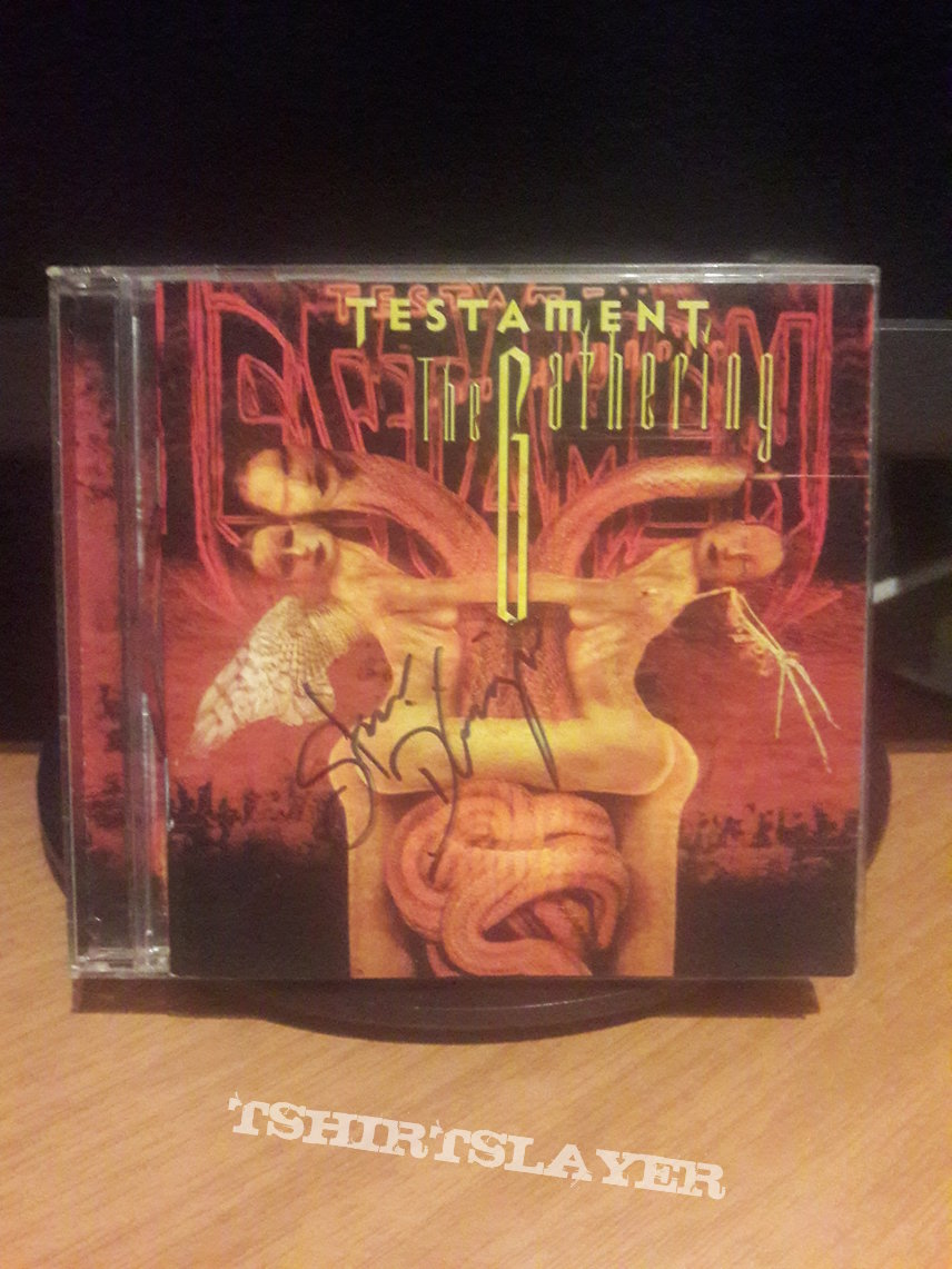 Testament – The Gathering  (Signed by Steve DiGiorgio)