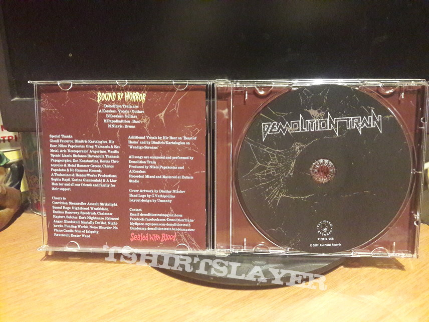 Demolition Train – Bound By Horror, Sealed With Blood
