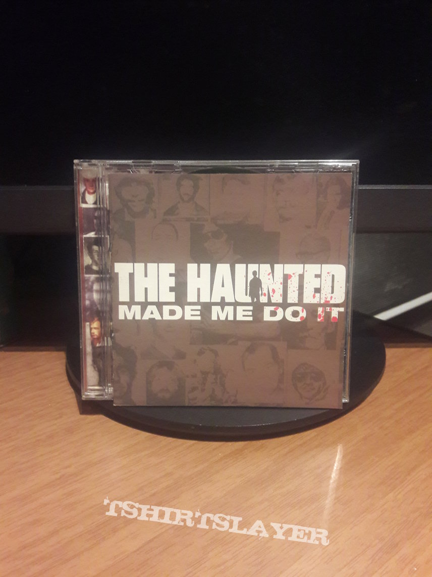 The Haunted ‎– Made Me Do It