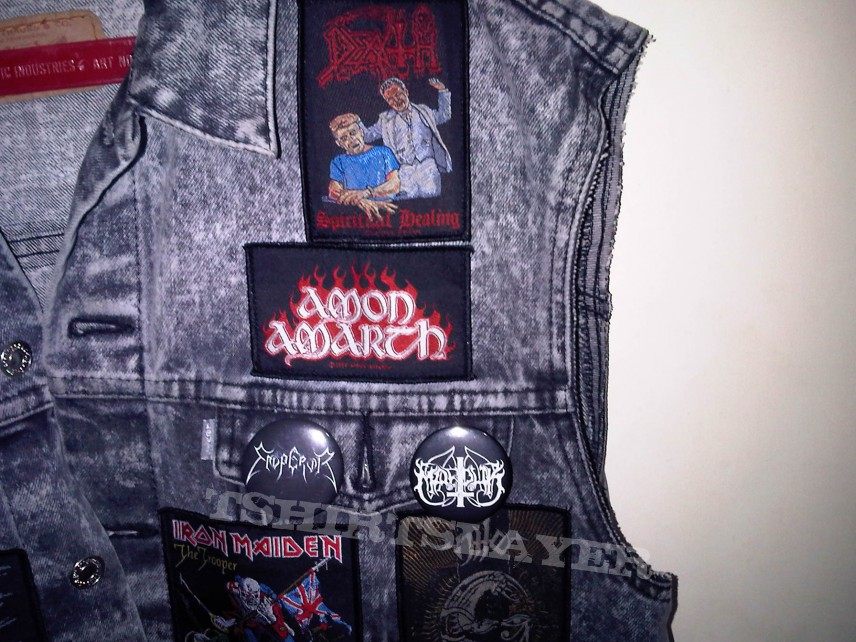 my battle jacket progress so far...