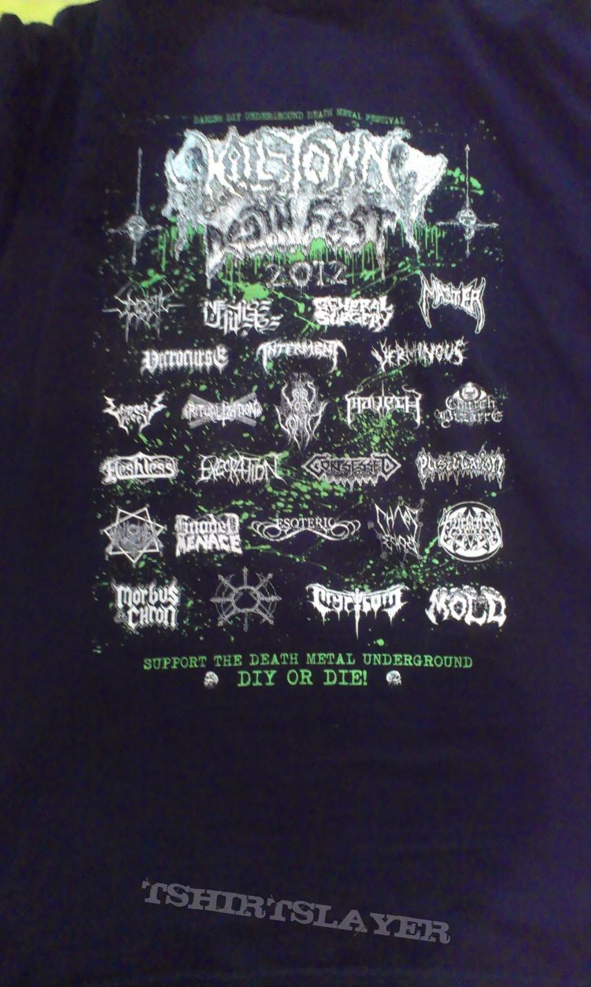 TShirt or Longsleeve - Kill Town Death Fest T-Shirt 2012