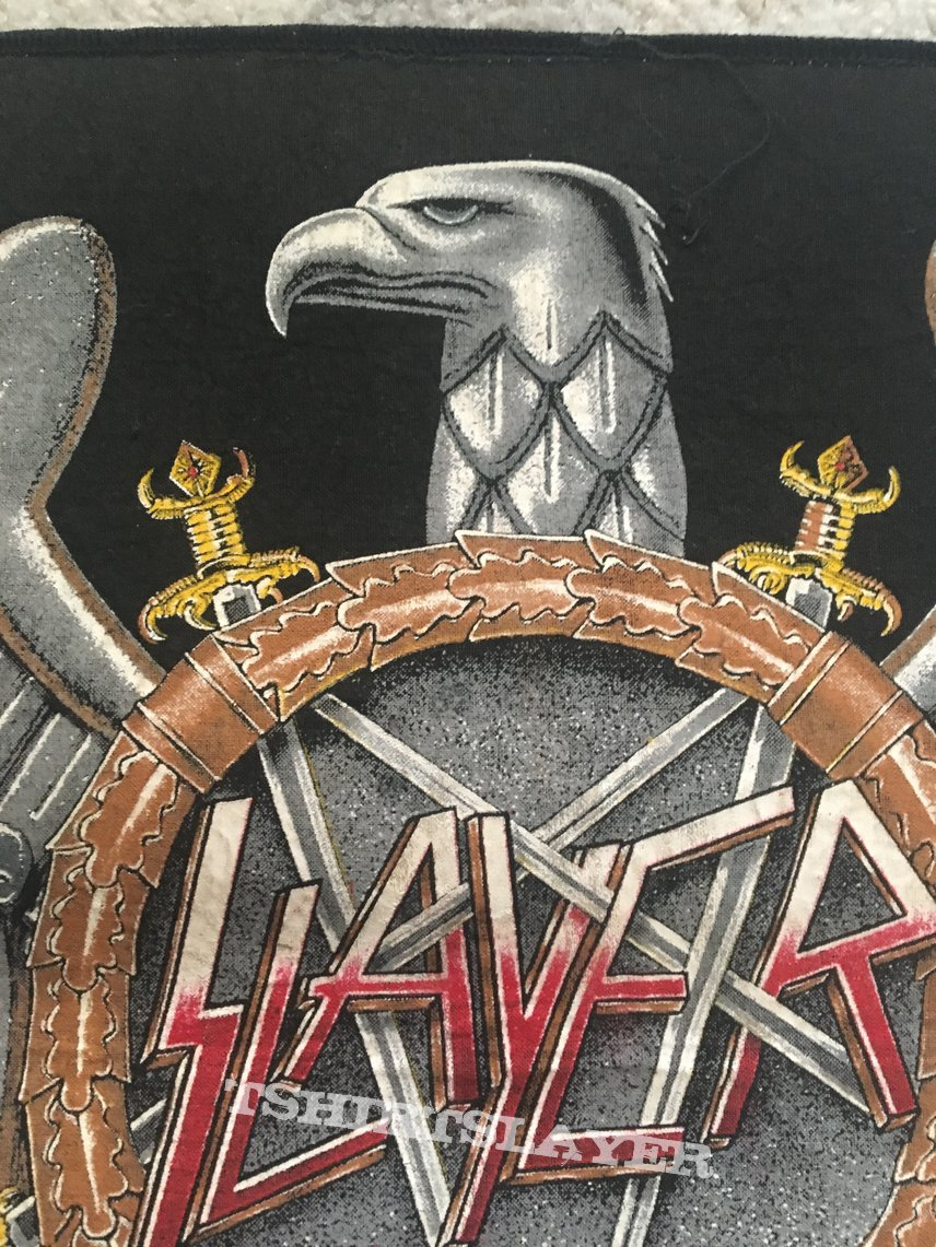 Slayer eagle official 1990 backpatch
