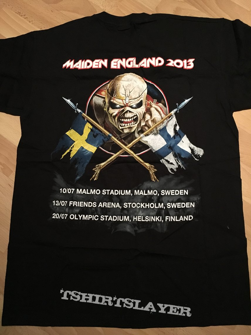 "Maiden Enland Tour 2013 ""The Nordics"""