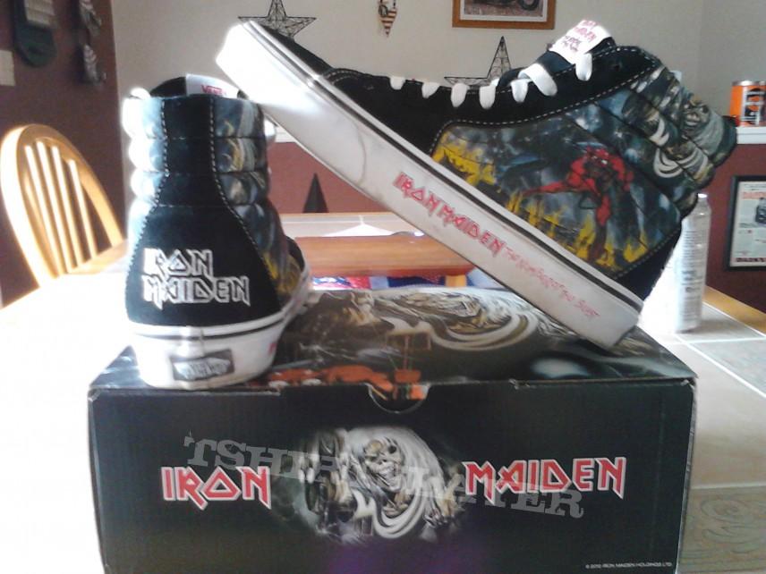 Iron Maiden Number Of The Beast vans