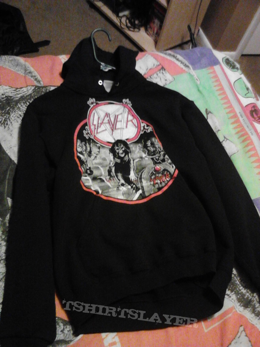 Hooded Top - Slayer Live Undead/Reign In Blood vintage hoodie