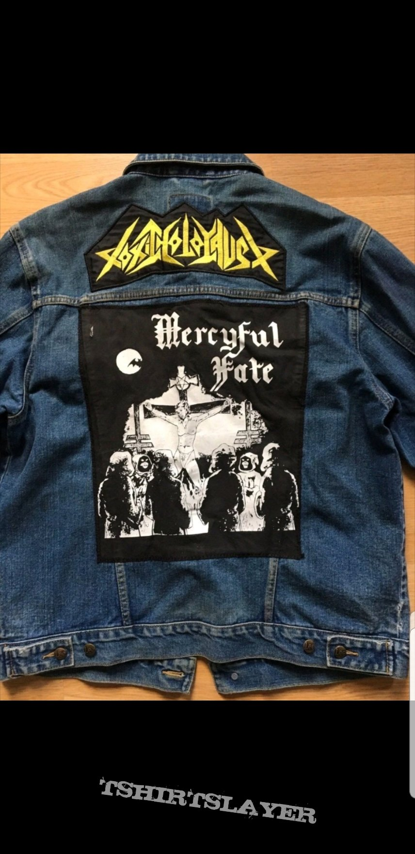 Mercyful fate jean jacket