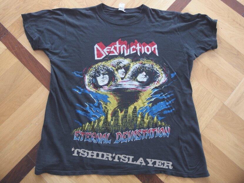 DESTRUCTION Eternal Devastation 80s Shirt