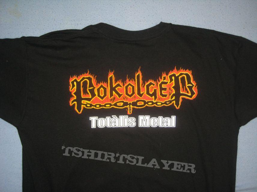 TShirt or Longsleeve - Pokolgép Totális Metál bootleg t-shirt