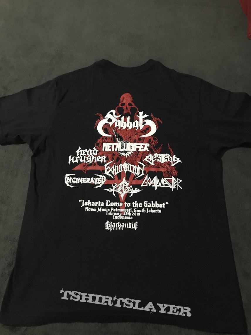 Sabbat-Metalucifer Indonesian Tour 2019