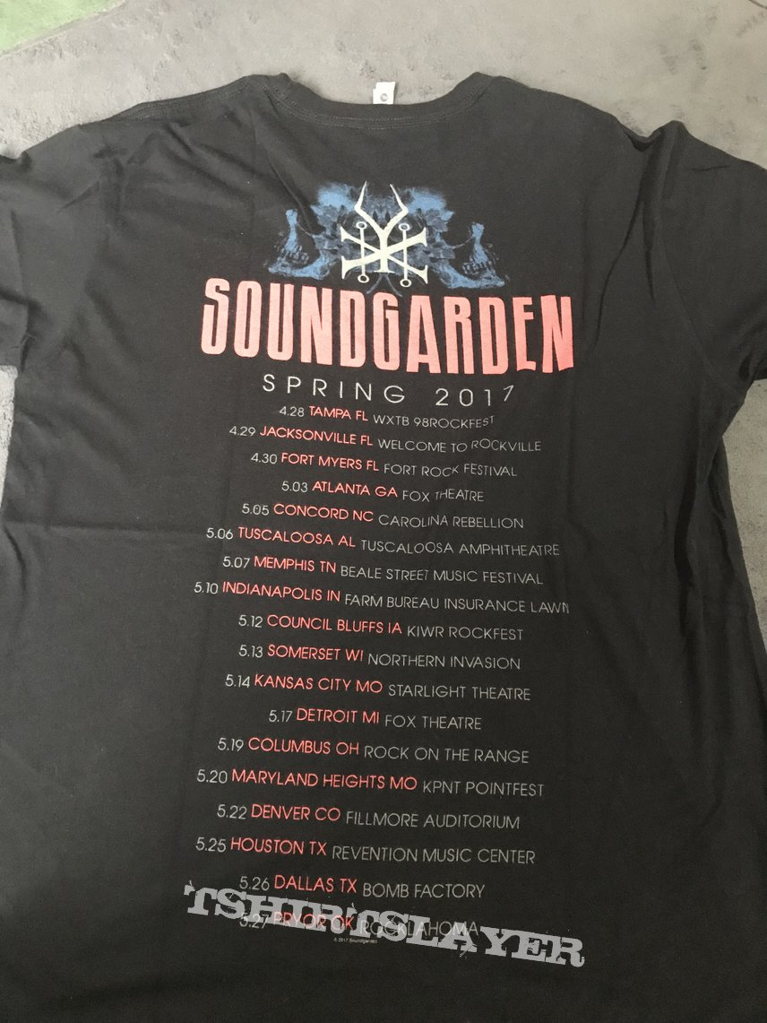 Soundgarden Tour 2017