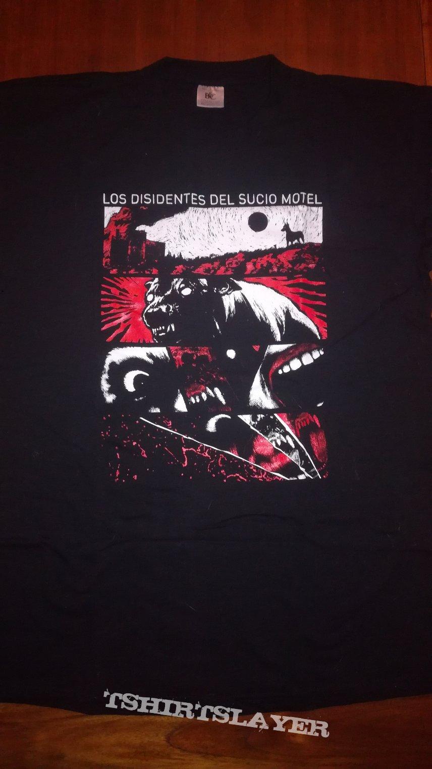 Los Disidentes Del Sucio Motel - 2018 tour shirt