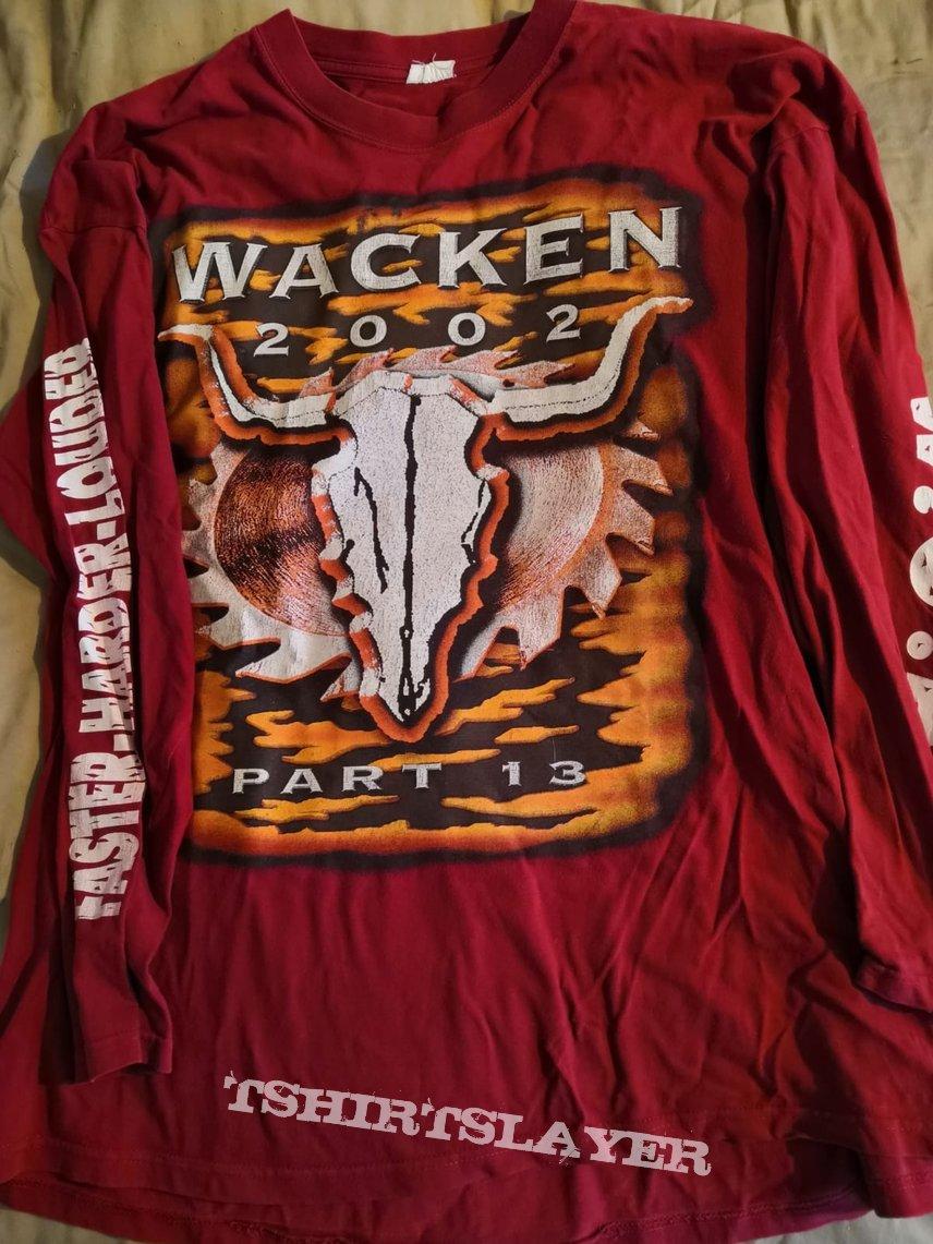 wacken 2002 longsleeve
