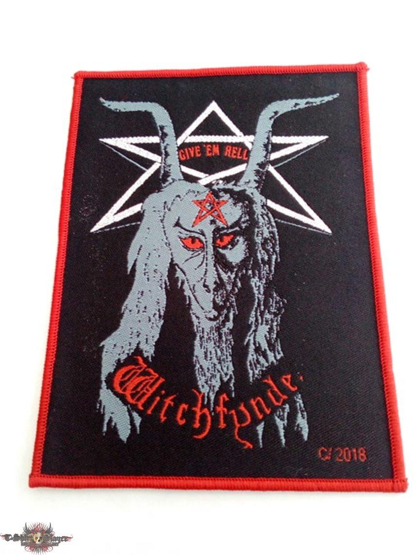Witchfynde Give 'Em Hell patch