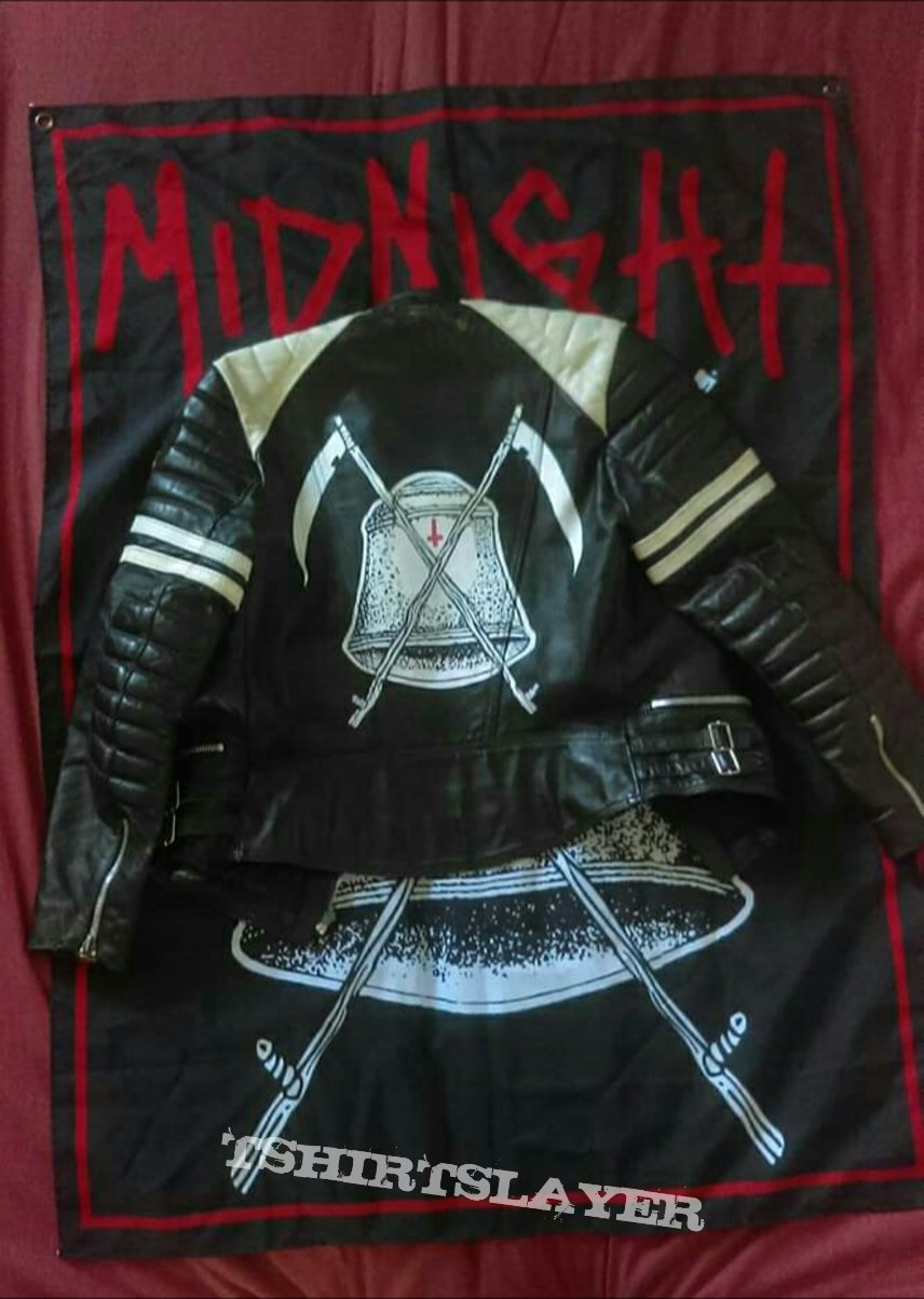 My Midnight motorcycle leather jacket