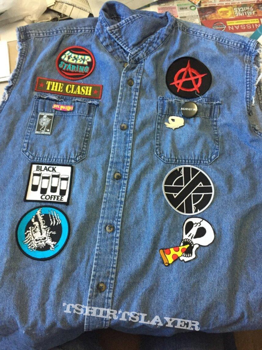 My friend's punk vest