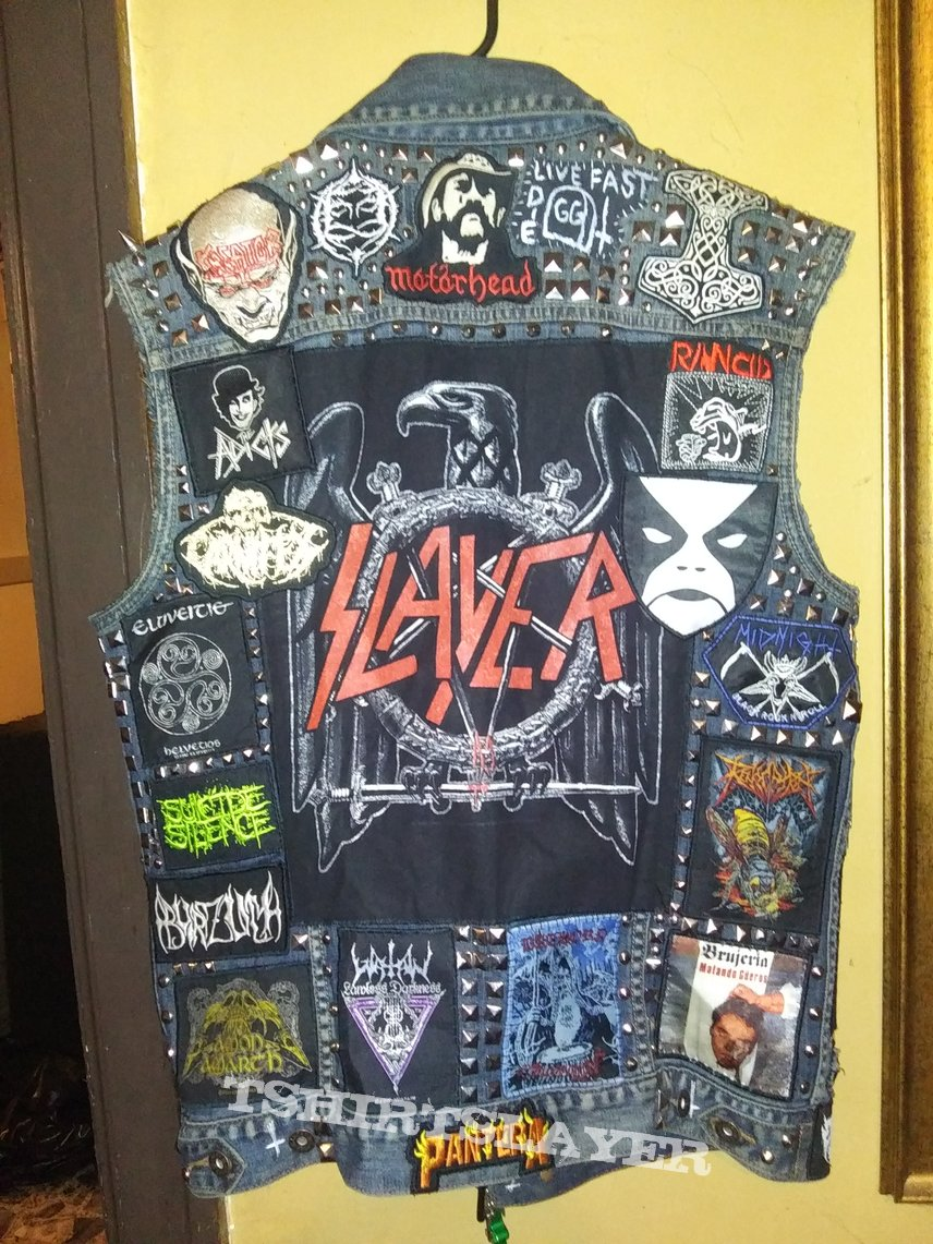 More updates on my vest or something