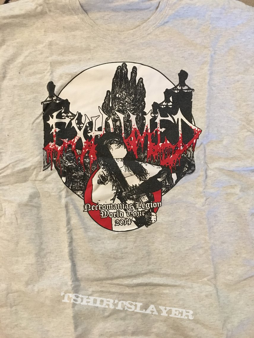 Exhumed tour shirt