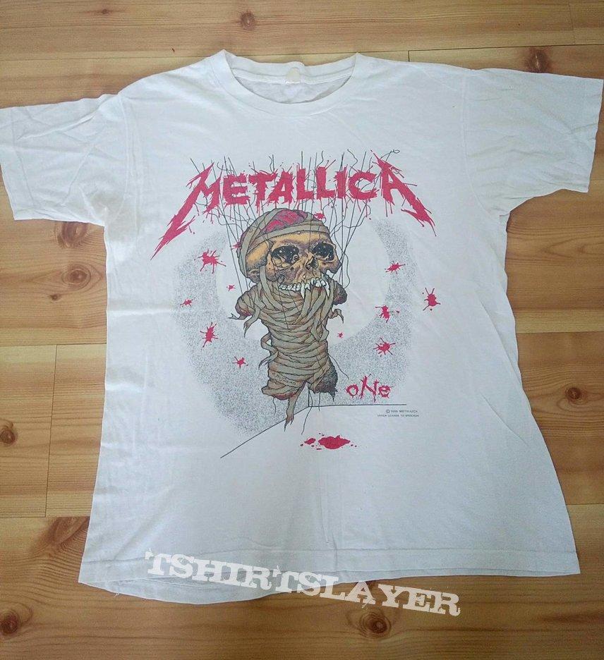 Metallica shirt 1989