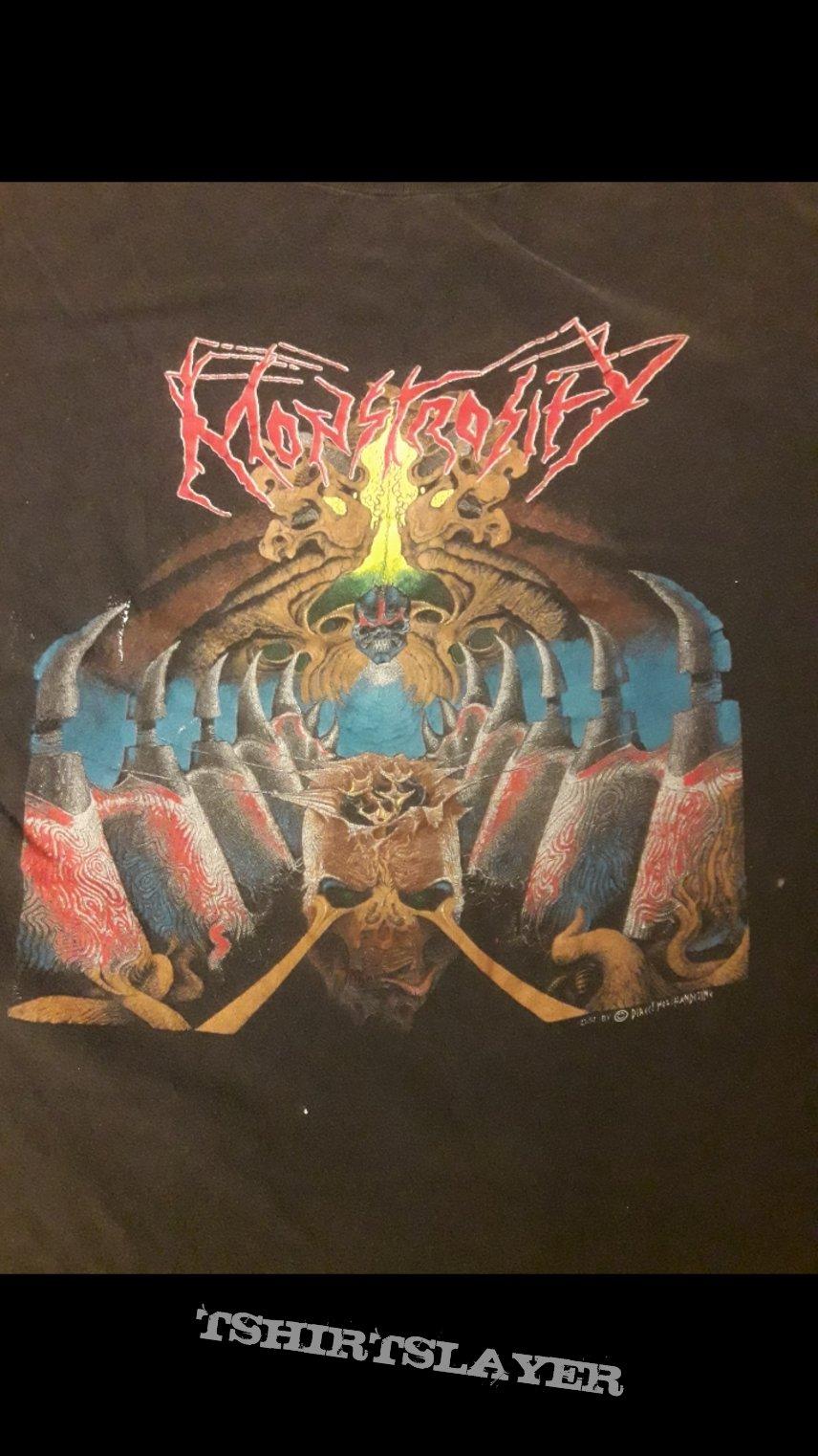 Monstrosity Demo & Imperial Doom-shirt