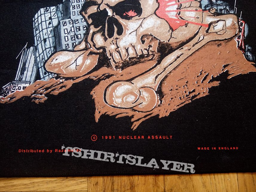 Nuclear Assault back patch