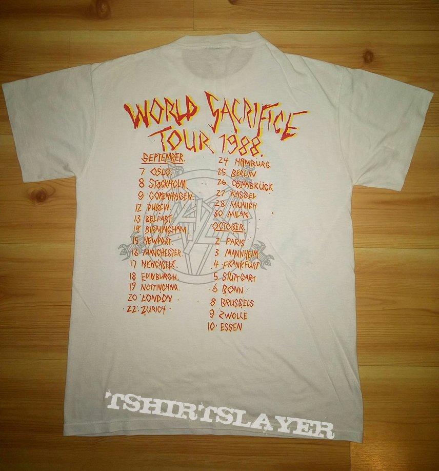 Slayer World Sacrifice Tour 1988