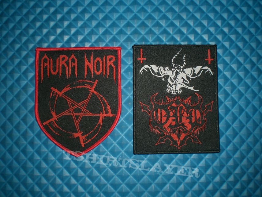 Woven patches (4), SOLD OUT.