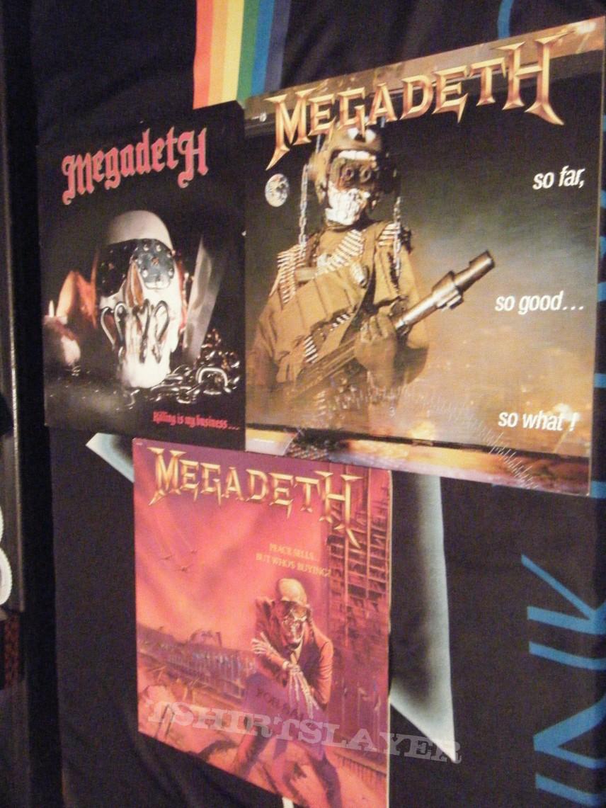 Megadeth Records