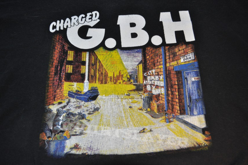 TShirt or Longsleeve - G.B.H City Baby Attacked By Rats Shirt