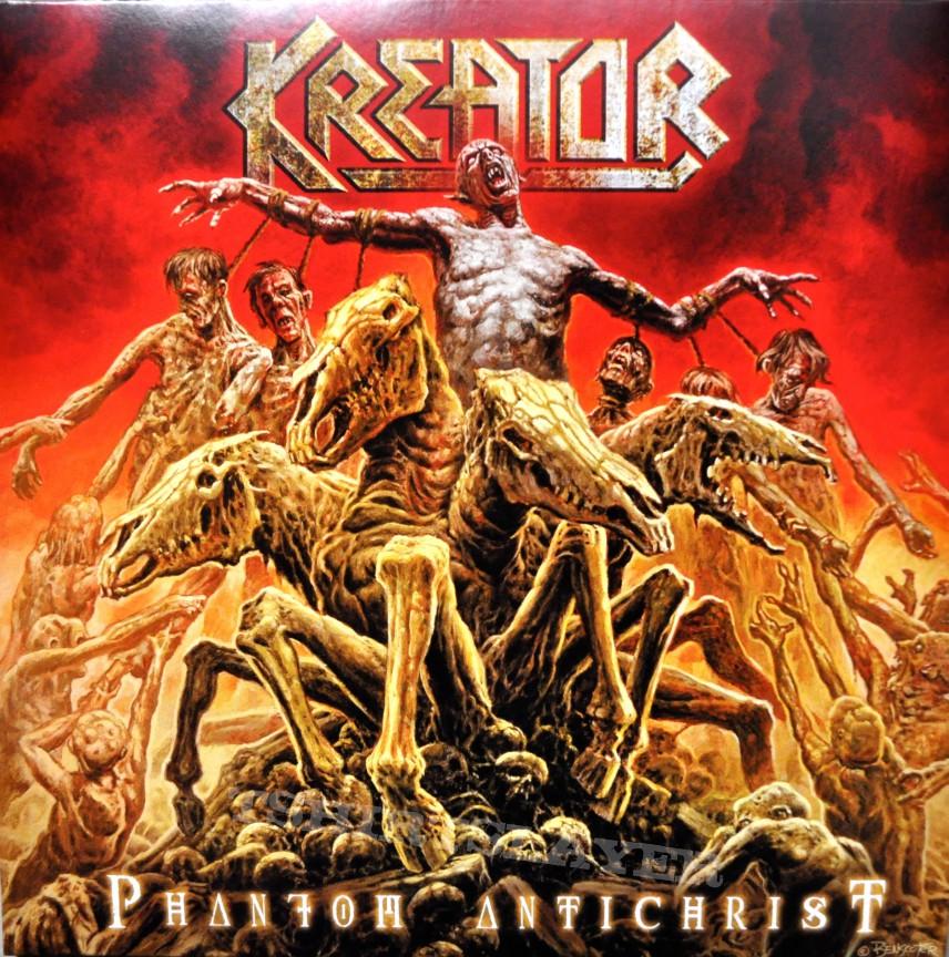 Kreator Phantom Antichrist Original Yellow Vinyl