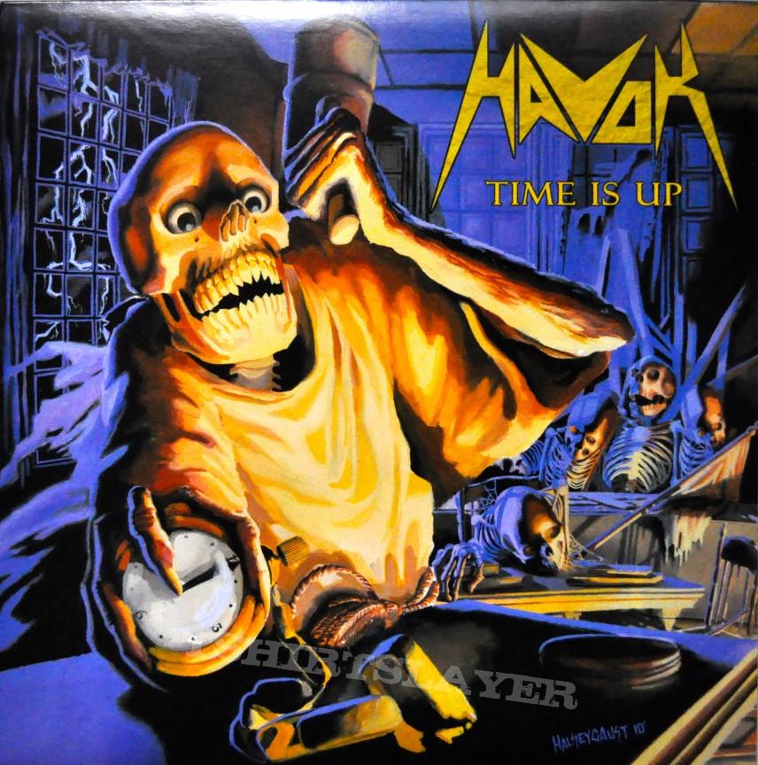 HAVOK Time Is Up Original Gold Vinyl