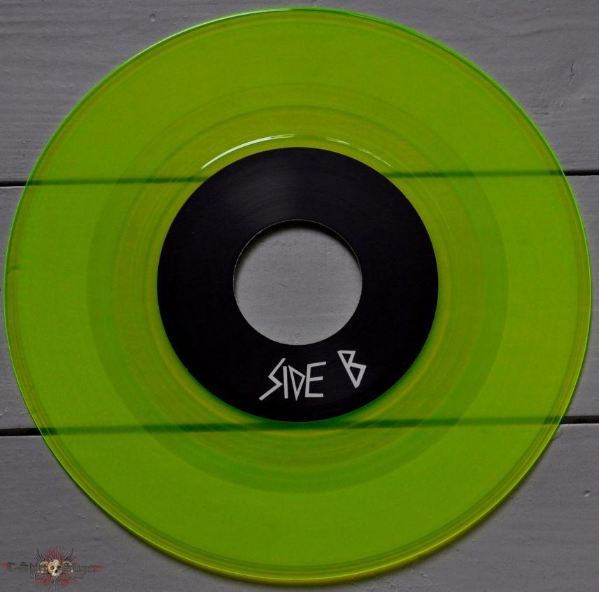 "Space Chaser Skate Metal Punks 7"" Original Yellow Vinyl"
