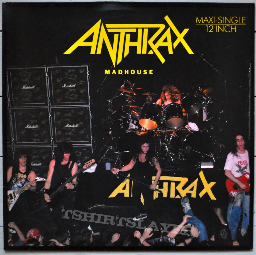 Madhouse (anthrax) by c. Benante, d. Spitz, f. Bello, j.