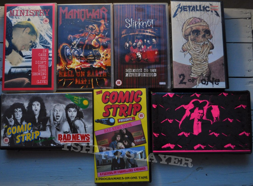 Other Collectable - Old Metal VHS Cassettes #3