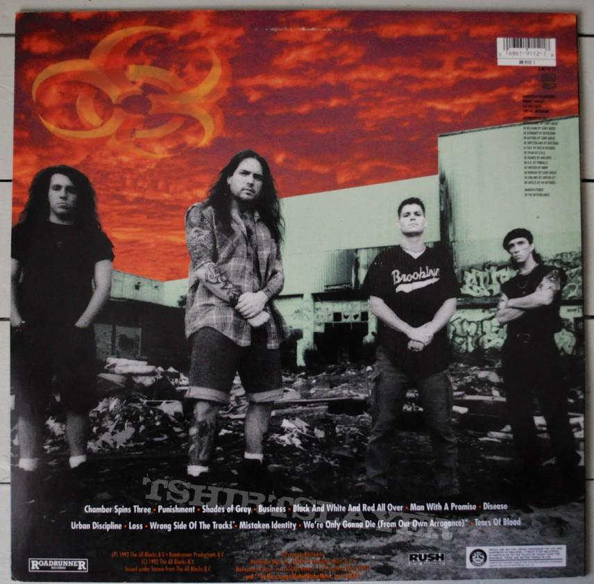 biohazard urban discipline original vinyl tshirtslayer