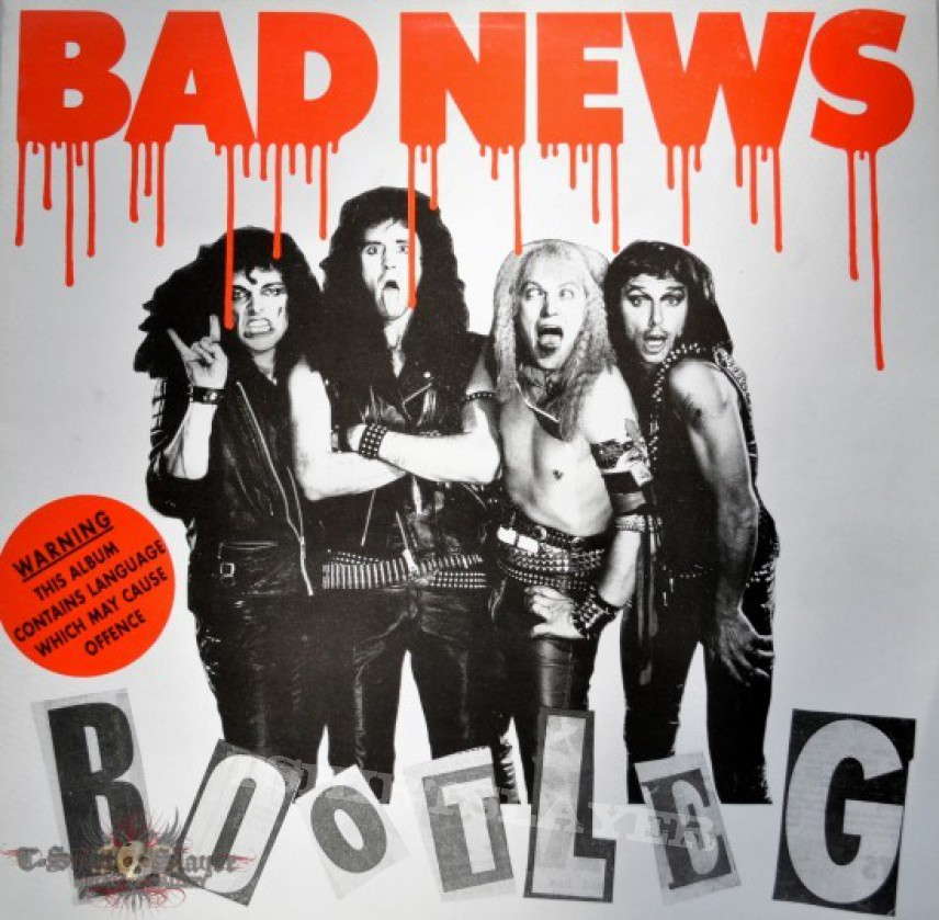 Other Collectable - Bad News Bootleg Original Vinyl
