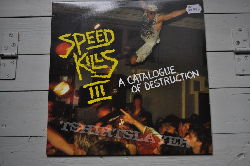 Other Collectable - Speed Kills III V/A Original Vinyl